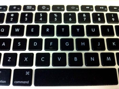 MacbookPro keyboard