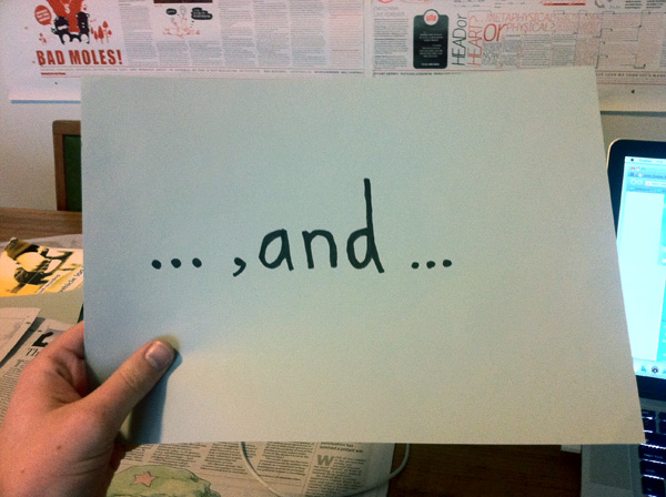 The humble Oxford comma